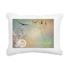 Get Well Soon Rectangular Canvas Pillow