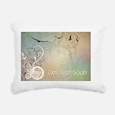 Get Well Soon Rectangular Canvas Pillow