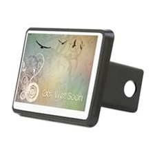 Get Well Soon Rectangular Hitch Cover