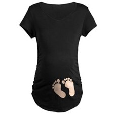 Baby Feet Maternity T-Shirt