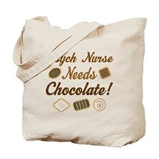 Psych Nurse Chocolate Gift Tote Bag