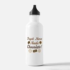 Psych Nurse Chocolate Gift Water Bottle
