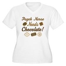 Psych Nurse Chocolate Gift T-Shirt