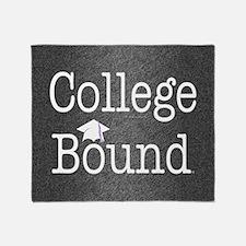 College Bound Throw Blanket