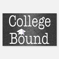 College Bound Decal