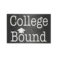 College Bound Rectangle Magnet