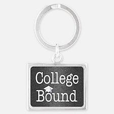 College Bound Landscape Keychain