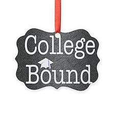 College Bound Picture Ornament