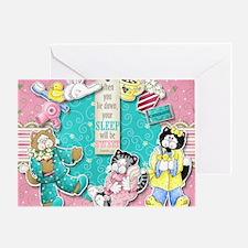 The Cats Pajamas Greeting Card