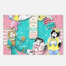 The Cats Pajamas Postcards (Package of 8)