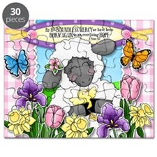 Cuddly Sweet Sheep Puzzle