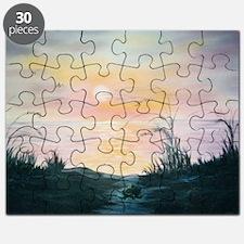 Dune Sunset Puzzle