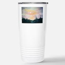 Dune Sunset Stainless Steel Travel Mug