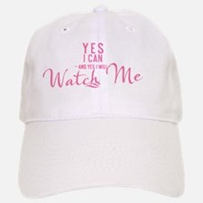 women boy brief Yes I can and Yes I will Watch Baseball Baseball Cap