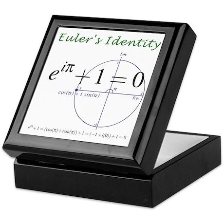 Euler's identity Keepsake Box