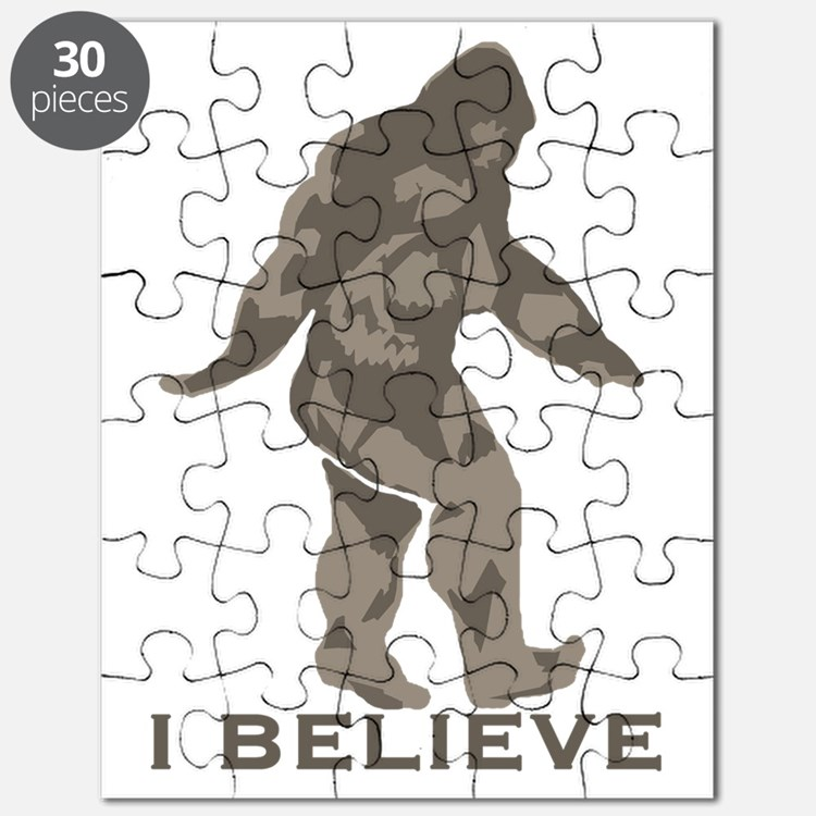 Believe in the Bigfoot Puzzle
