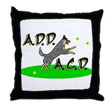 add acd blue Throw Pillow