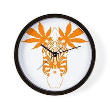 brwn_mzebra Wall Clock
