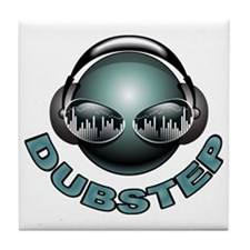 Dubstep Deejay Tile Coaster