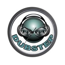 Dubstep Deejay Wall Clock