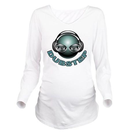 Dubstep Deejay Long Sleeve Maternity T-Shirt