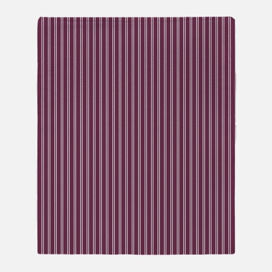 Pinstripe-Double_Large Throw Blanket