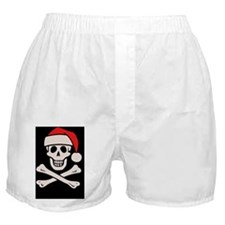 santa-pirate2-OV Boxer Shorts