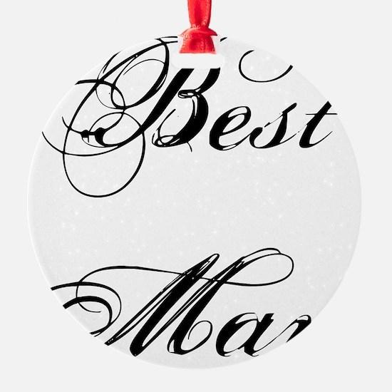 Best Man Ornament