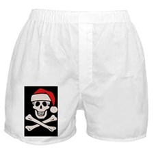 santa-pirate2-BUT Boxer Shorts