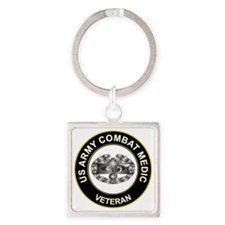 US ARMY COMBAT MEDIC Square Keychain