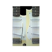 Guitar FF (Electric) Rectangle Magnet