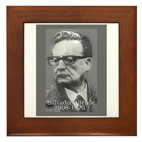 Allende Framed Tile