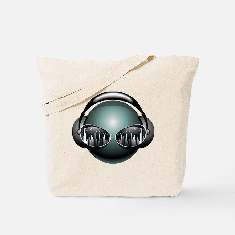 DJ Head Tote Bag