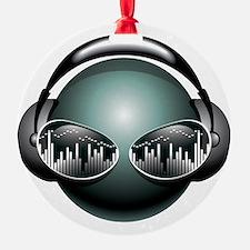 DJ Head Ornament