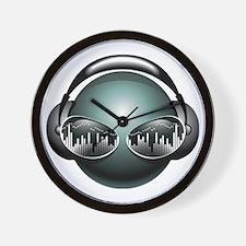 DJ Head Wall Clock