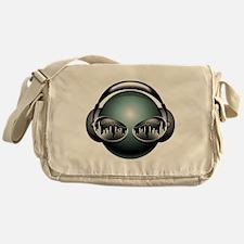 DJ Head Messenger Bag