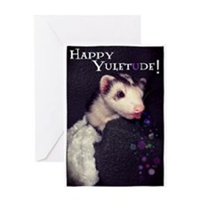 Happy Yuletude! Greeting Cards