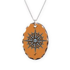 compass-rose5-BUT Necklace