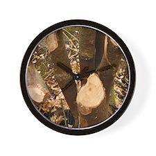 Beavers Work Wall Clock