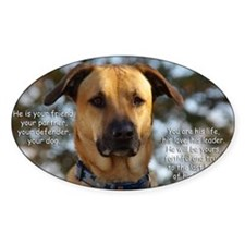 Cody He Is Your Friend You Are His  Decal