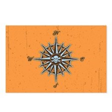 compass-rose5-OV Postcards (Package of 8)