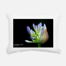 Floral Calender 2013 Rectangular Canvas Pillow