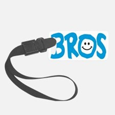 Brothers Bros Happy Smile Luggage Tag