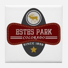 Estes Park Natural Marquis Tile Coaster