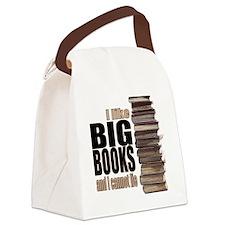Big Books Canvas Lunch Bag