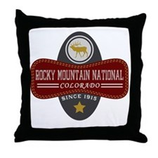 Rocky Mountain Natural Marquis Throw Pillow