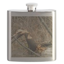 Beavers Almost Done Flask