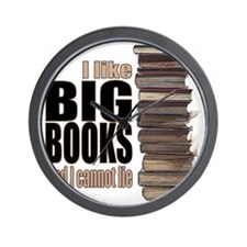 Big Books Wall Clock