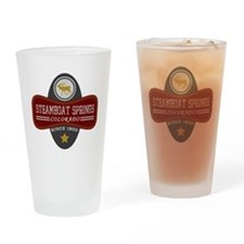 Steamboat Springs Natural Marquis Drinking Glass