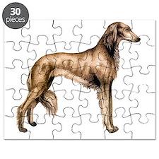 Saluki Silhouette Puzzle